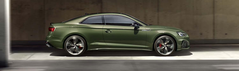 New Audi A5 Coupé