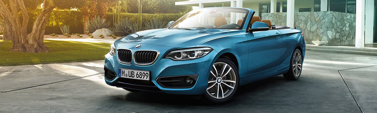 BMW 2 Series Convertible Motability
