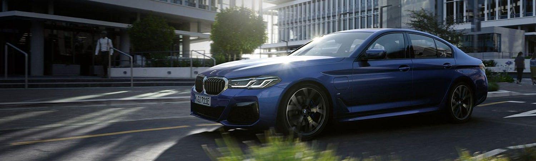 New BMW 5 Series Saloon