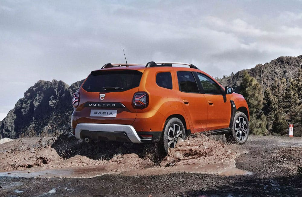 New Dacia Duster Motability