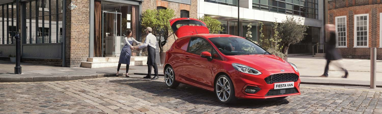 All-New Ford Fiesta Van
