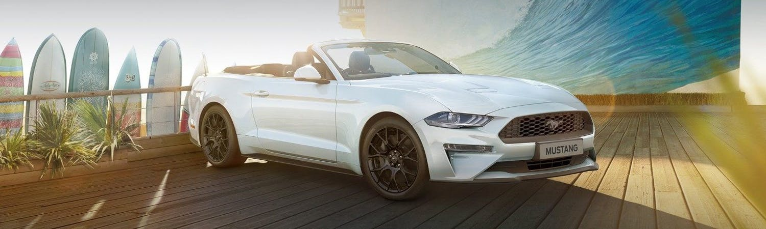New Ford Mustang Convertible
