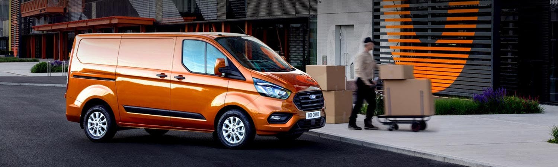 New Ford Transit Custom