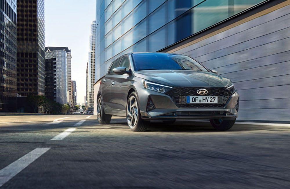 All-new Hyundai i20 Motability
