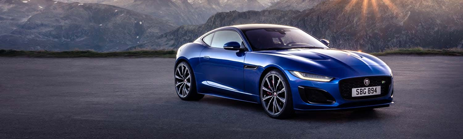 New Jaguar F-TYPE Coupé