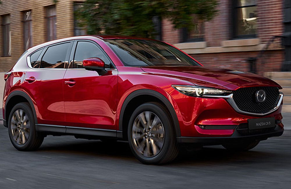 New Mazda Cars Business Contract Hire Offers