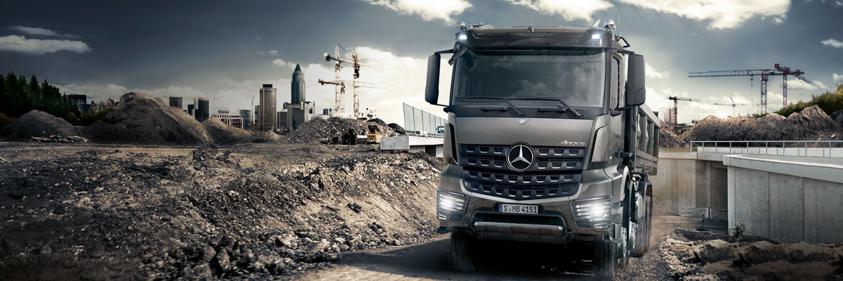 New Mercedes-Benz Arocs