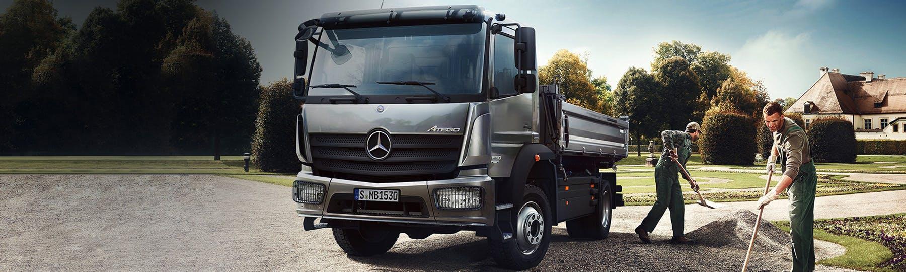 New Mercedes-Benz Atego