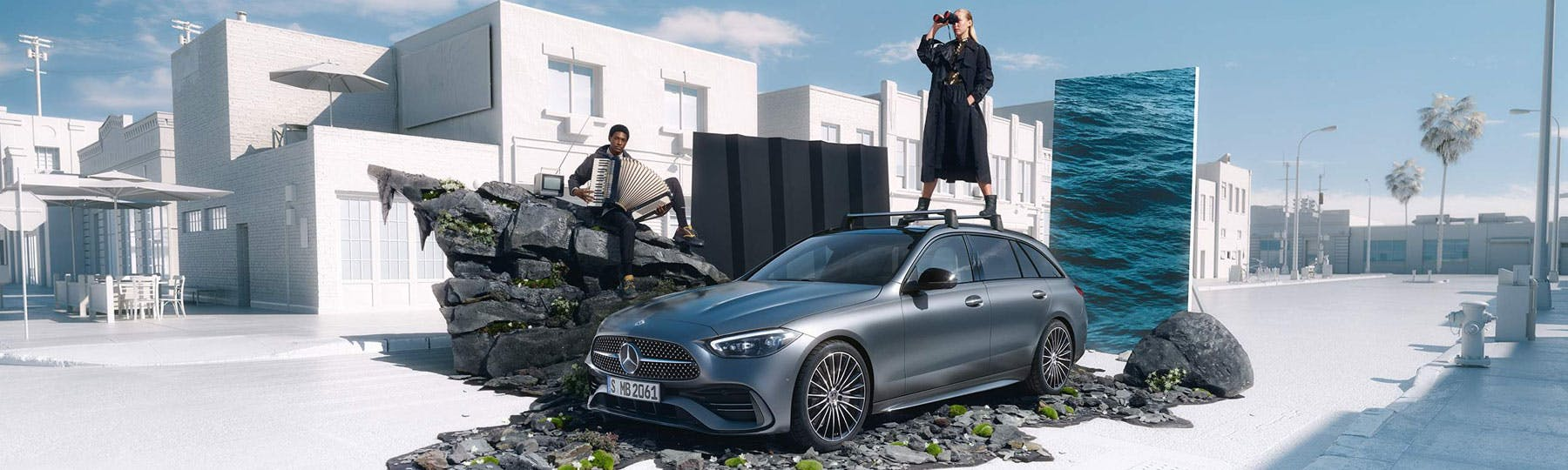 New Mercedes-Benz C-Class Estate