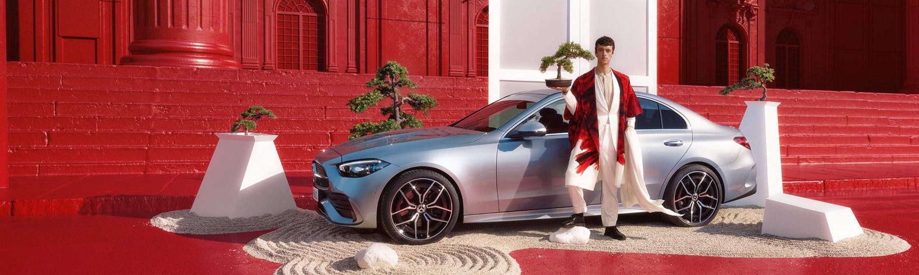 New Mercedes-Benz C-Class Saloon