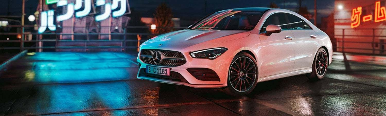 New Mercedes-Benz CLA Coupé Motability