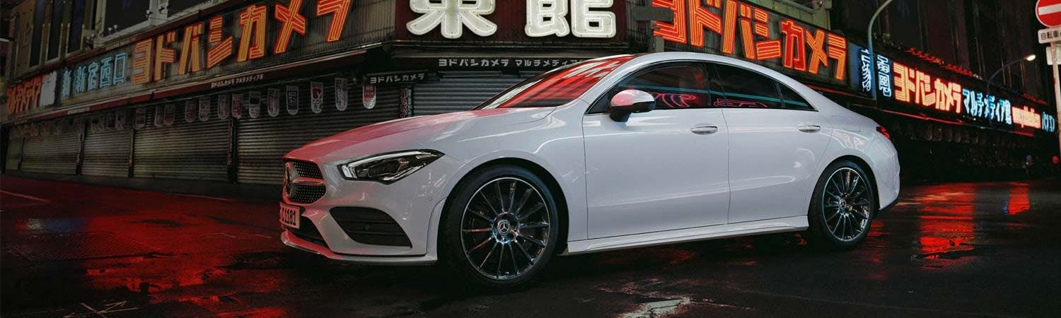 New Mercedes-Benz CLA Coupé