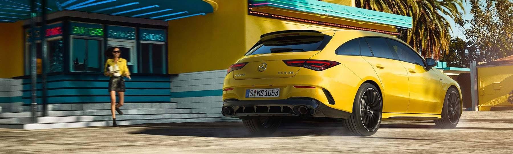 New Mercedes-Benz CLA Shooting Brake Motability
