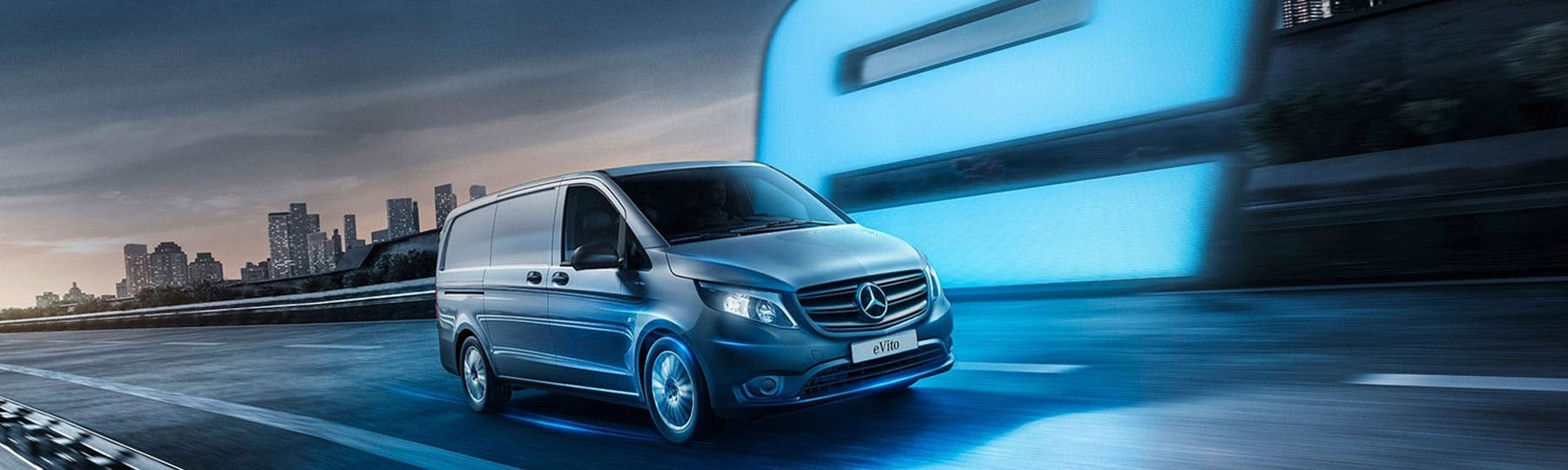 New Mercedes-Benz eVito