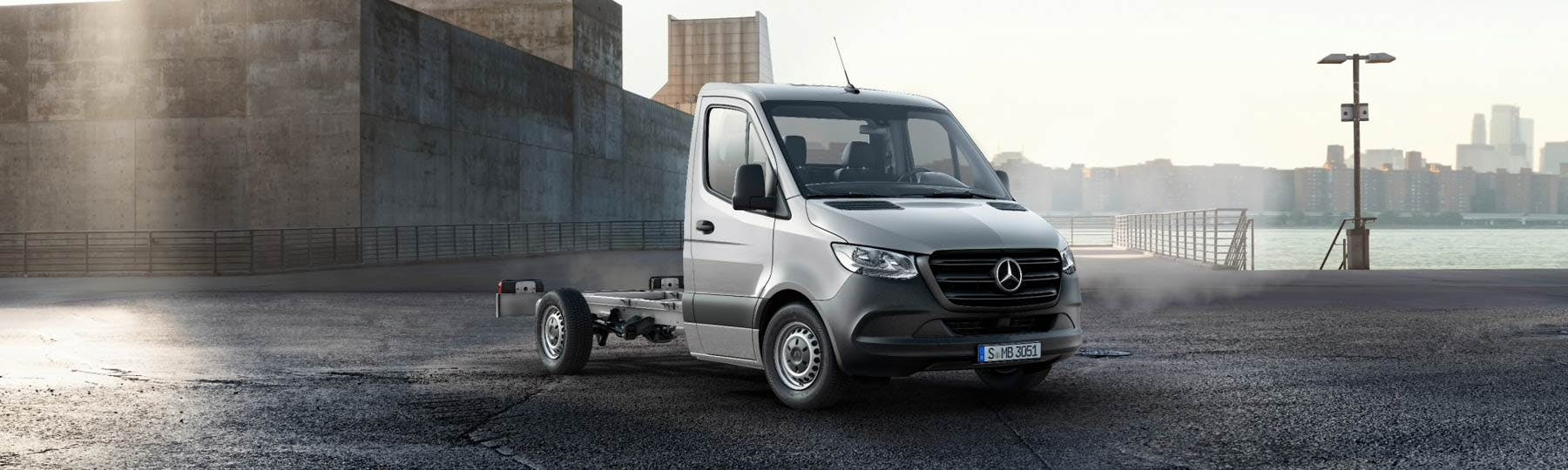 New Mercedes-Benz Sprinter Chassis