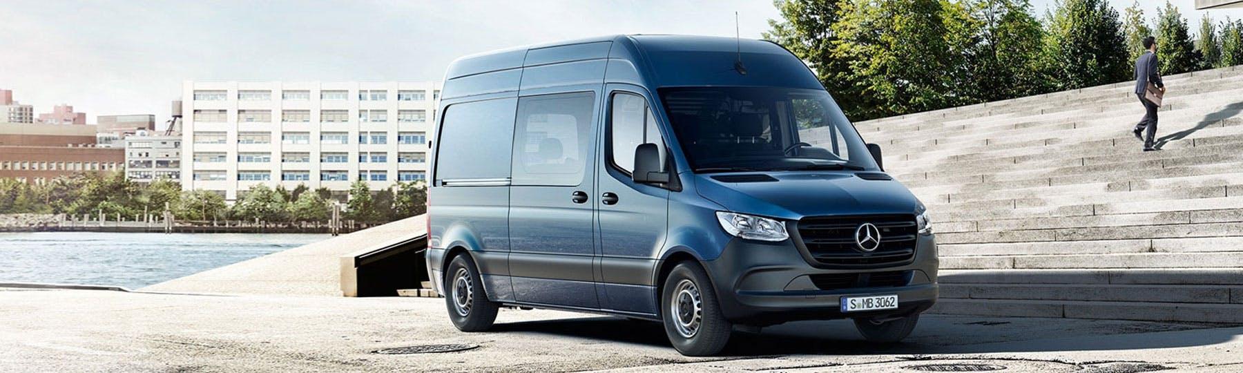 New Mercedes-Benz Sprinter Crew Van