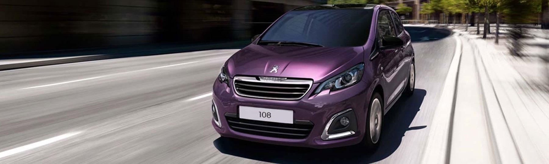 Peugeot 108 Motability