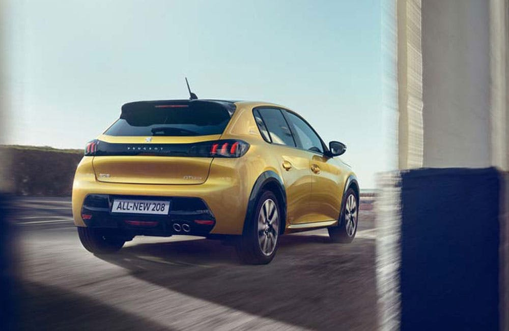 All-new Peugeot 208 Motability