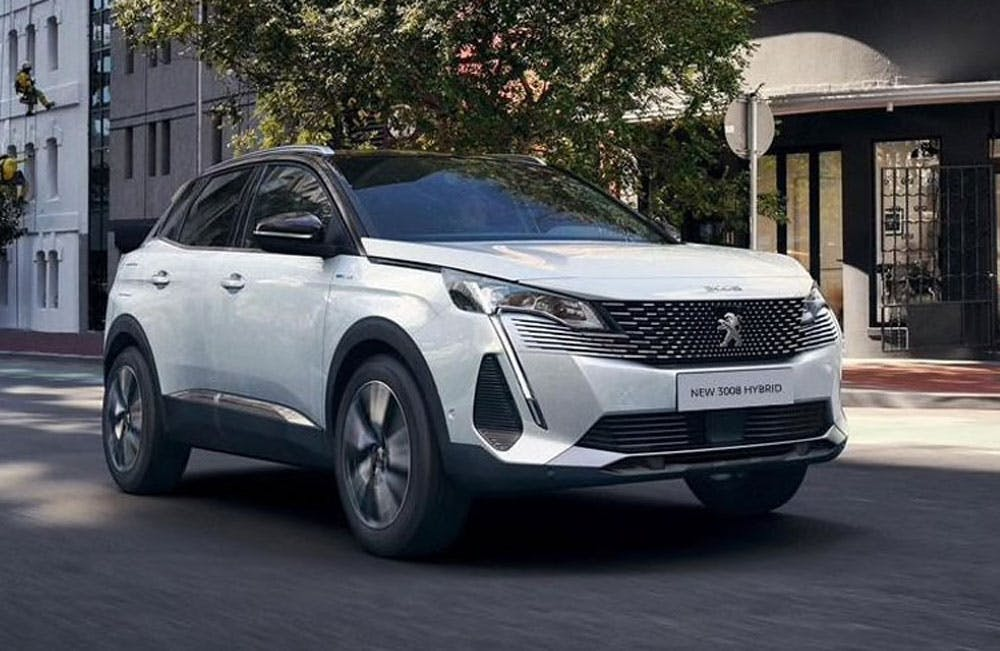 New Peugeot 3008 SUV Hybrid Motability