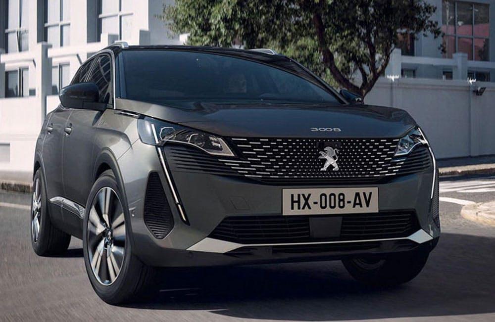 New Peugeot 3008 SUV Motability