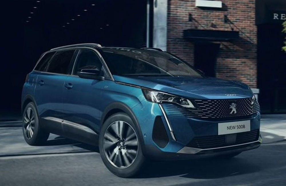 New Peugeot 5008 SUV Motability