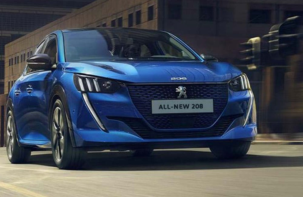 All-new Peugeot e-208 Motability