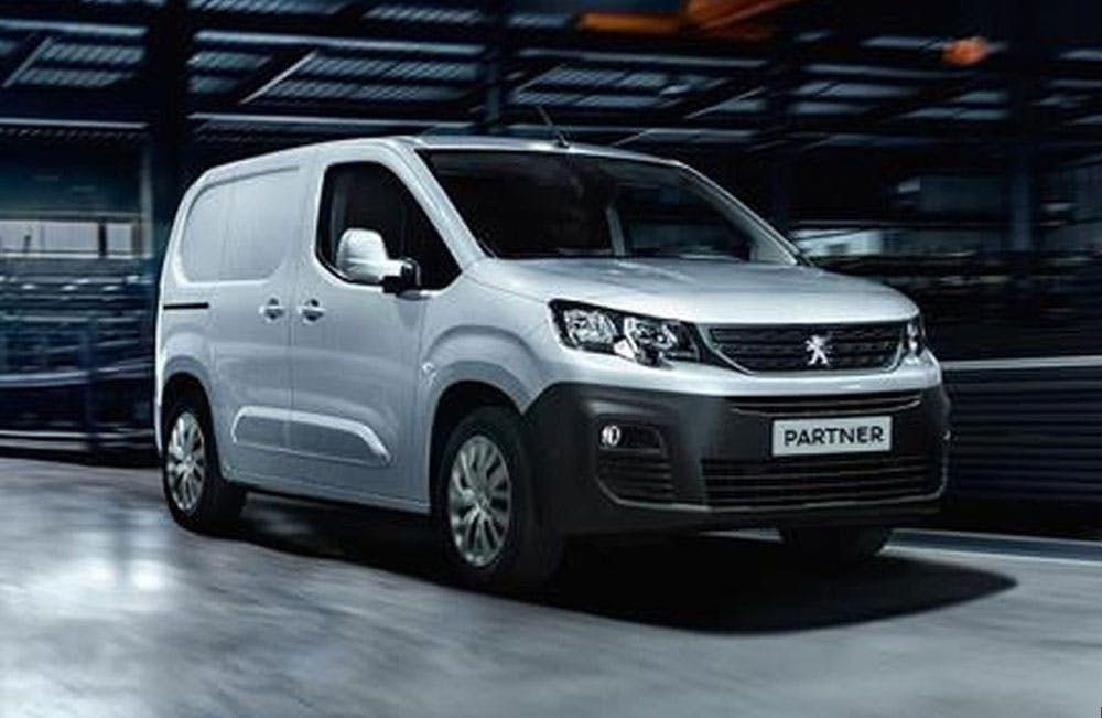 New Peugeot Vans Business Contract Hire Offers