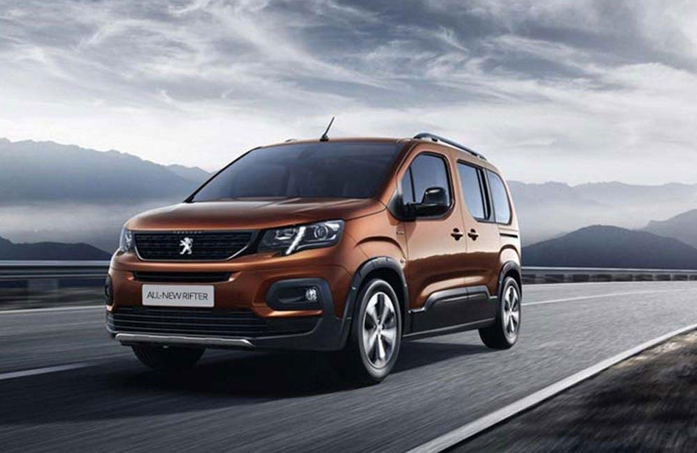 All-New Peugeot Rifter Motability