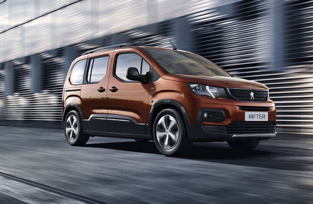 All-New Peugeot Rifter
