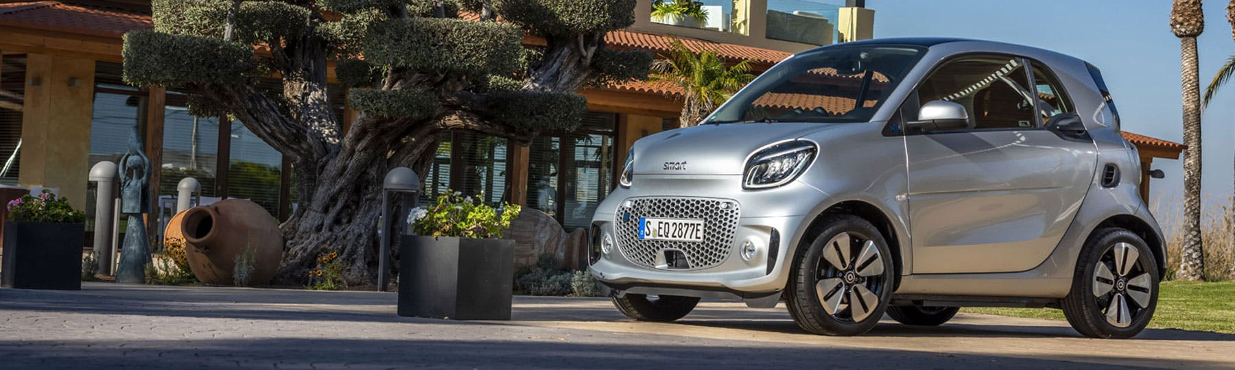 smart EQ fortwo Coupe Motability