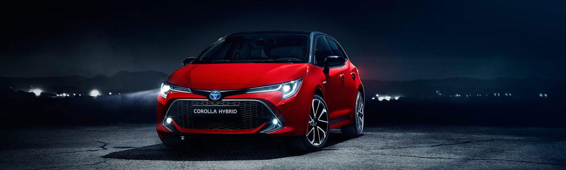 New Toyota Corolla Hatchback Motability