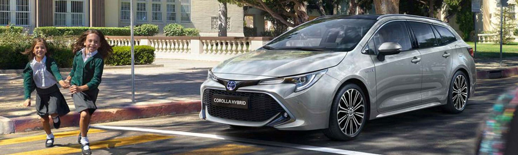All New Toyota Corolla Touring Sports Motability