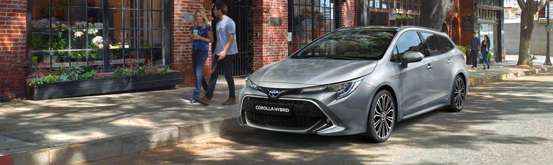 All New Toyota Corolla Touring Sports