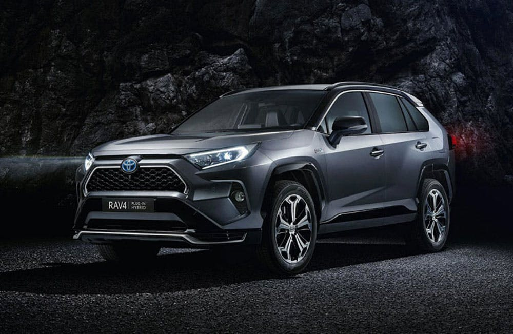 All New Toyota Rav4 Plug-in