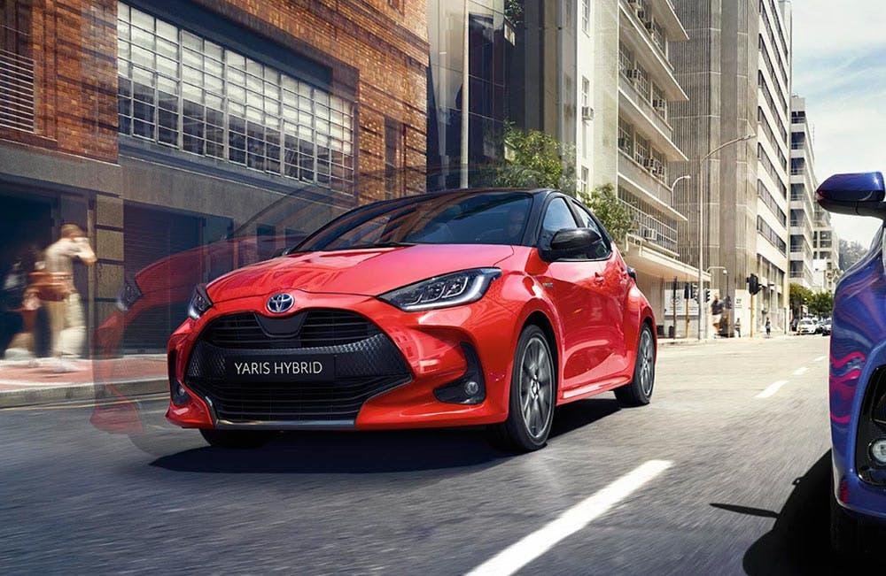 New Toyota Yaris Motability
