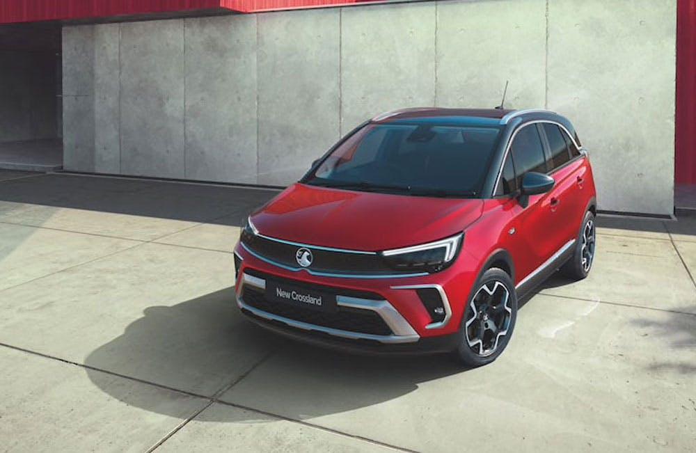 New Vauxhall Crossland Motability