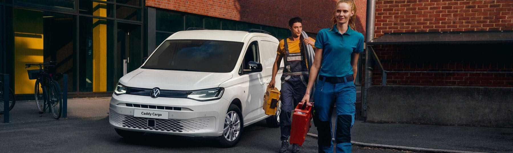 The New Volkswagen Caddy Cargo