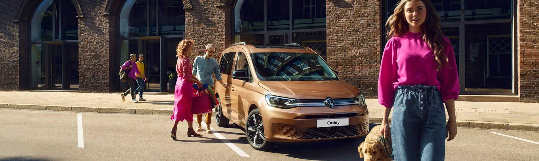 The New Volkswagen Caddy