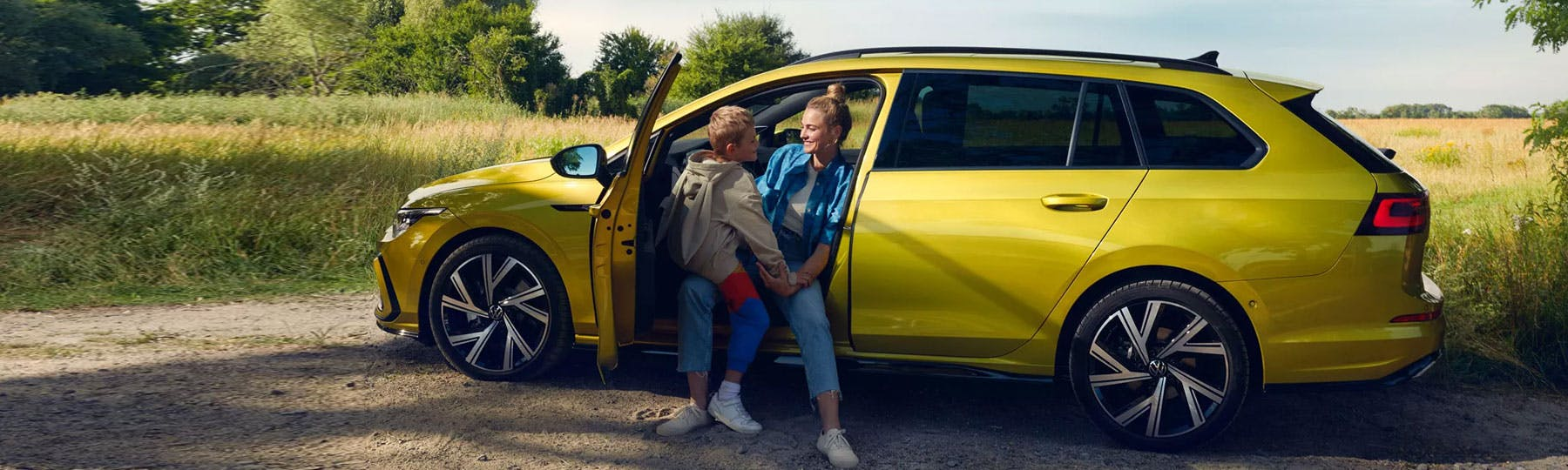 New Volkswagen Golf Estate Motability