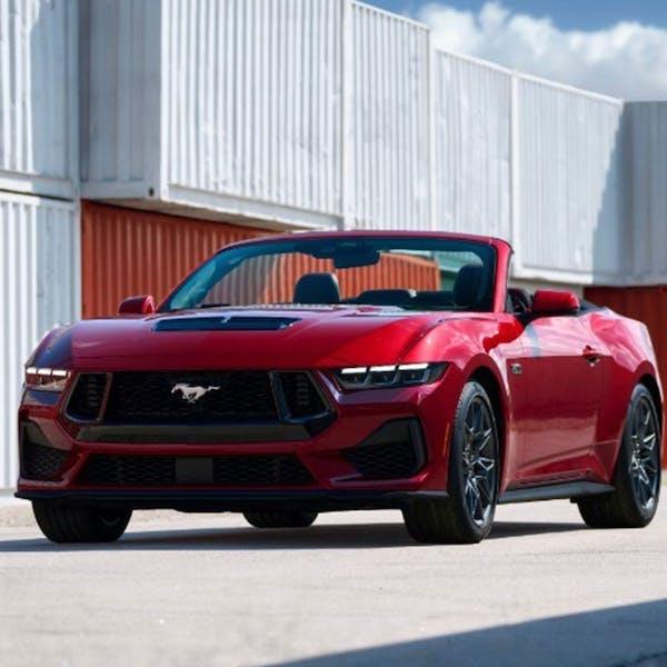 New Mustang Convertible