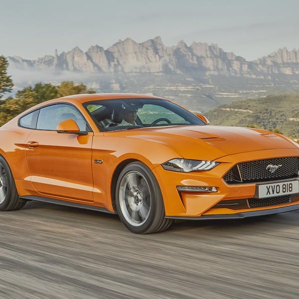 New Mustang Fastback