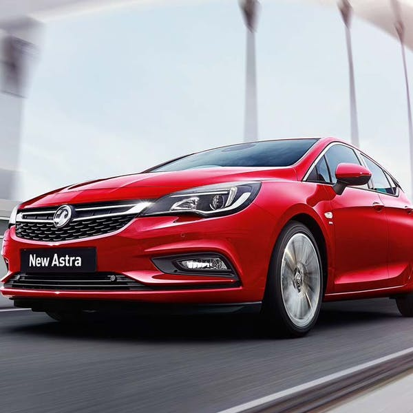 New Vauxhall Astra In Northumberland And East Lothian