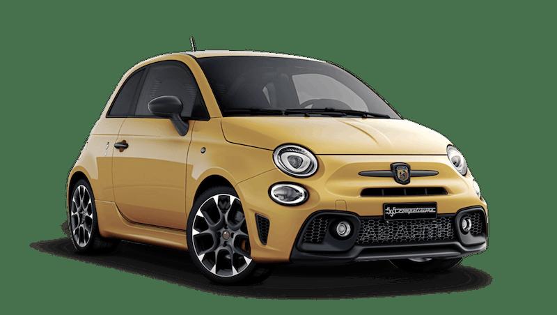 Modena Yellow (Pastel) Abarth 595 Competizione