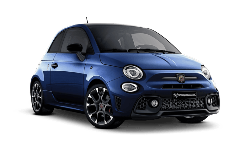 Podium Blue with Black Roof (Bi-Colour) Abarth 595 Competizione