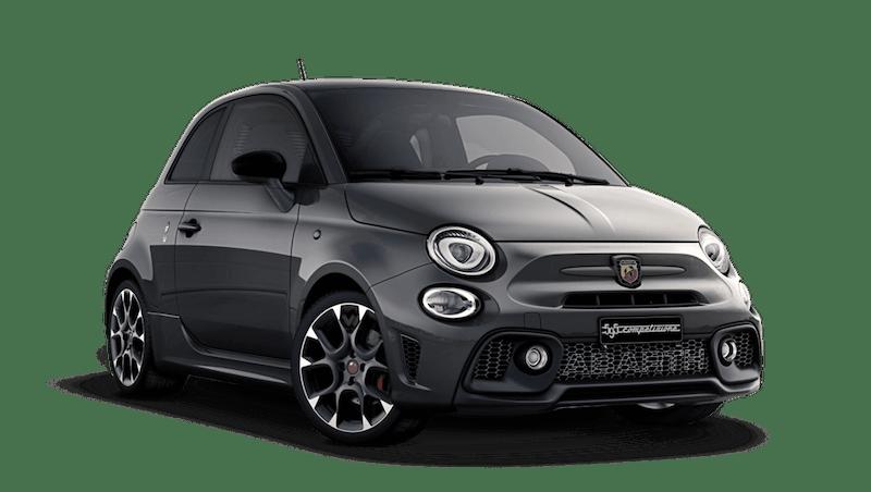 Record Grey with Black Roof (Bi-Colour) Abarth 595 Competizione