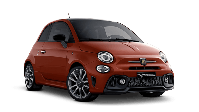 Abarth Red with Black Roof (Bi-Colour) Abarth 595 Turismo