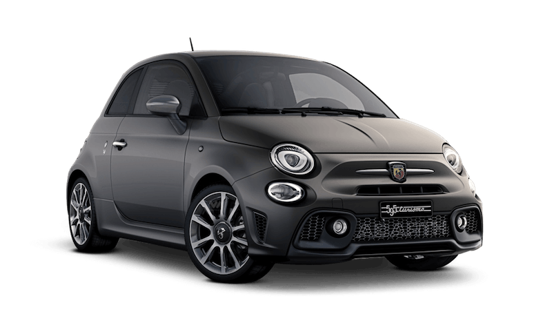Asphalt Grey (Matt) Abarth 595 Turismo