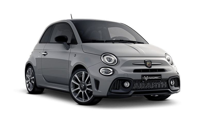 Campovolo Grey with Black Roof (Bi-Colour) Abarth 595 Turismo