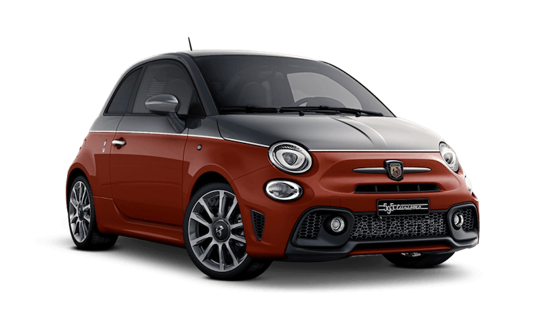 Circuit Grey / Rosso Abarth (Bi-Colour) Abarth 595 Turismo