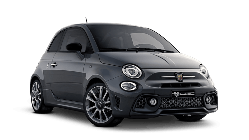 Circuit Grey with Black Roof (Bi-Colour) Abarth 595 Turismo